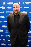 François Damiens lors de la 9ème Cérémonie des Magritte du Cinéma, qui récompense le septième art belge, au Square, à Bruxelles.<br /> Belgique, Bruxelles, 2 février 2019.<br /> François Damiens pictured during the 9th edition of the Magritte du Cinema awards ceremony, <br /> Belgium, Brussels, 2 February 2019.