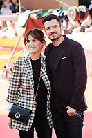 ROME, ITALY - NOVEMBER 04: Orlando Bloom and Maya Sansa walk a red carpet for 'Romans' during the 12th Rome Film Fest at Auditorium Parco Della Musica on November 4, 2017 in Rome, Italy.<br /> *Not for sale in Italy*<br /> CAP/MSX<br /> &copy;MSX/Capital Pictures