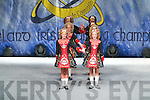 STEPPING IT OUT: Dancers from  Killarney, who competed in the All Ireland Irish Dancing Championships in the INEC Killarney on Tuesday.