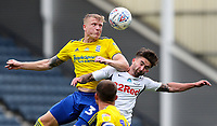 Birmingham City's Kristian Pedersen battles with Preston North End's Sean Maguire<br /> <br /> Photographer Alex Dodd/CameraSport<br /> <br /> The EFL Sky Bet Championship - Leeds United v Barnsley - Thursday 16th July 2020 - Elland Road - Leeds<br /> <br /> World Copyright © 2020 CameraSport. All rights reserved. 43 Linden Ave. Countesthorpe. Leicester. England. LE8 5PG - Tel: +44 (0) 116 277 4147 - admin@camerasport.com - www.camerasport.com<br /> <br /> Photographer Alex Dodd/CameraSport<br /> <br /> The EFL Sky Bet Championship - Preston North End v Birmingham City - Saturday 18th July 2020 - Deepdale Stadium - Preston<br /> <br /> World Copyright © 2020 CameraSport. All rights reserved. 43 Linden Ave. Countesthorpe. Leicester. England. LE8 5PG - Tel: +44 (0) 116 277 4147 - admin@camerasport.com - www.camerasport.com