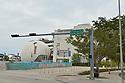 MIAMI, FLORIDA - APRIL 06: U.S. Deserted street downtown Amid Miami Coronavirus Covid-19 outbreak pandemic on April 06, 2020 in Miami, Florida.  ( Photo by Johnny Louis / jlnphotography.com )