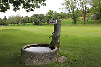 Water pump on the 7th hole during Wednesday's Pro-Am Day of The Evian Championship 2017, the final Major of the ladies season, held at Evian Resort Golf Club, Evian-les-Bains, France. 13th September 2017.<br /> Picture: Eoin Clarke | Golffile<br /> <br /> <br /> All photos usage must carry mandatory copyright credit (&copy; Golffile | Eoin Clarke)