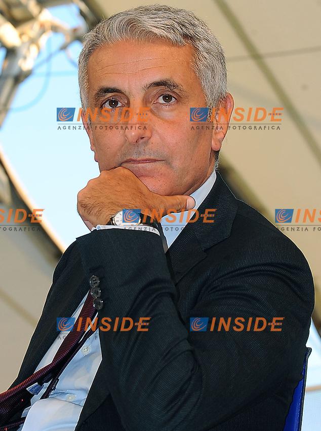 02-09-2013: Genova Festa Nazionale Partito Democratico<br /> Il ministro Gaetano Quagliariello <br /> Foto Genovafoto / Insidefoto