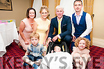 Baby Oran Rodgers with his parents Josephhine & Pat Roders, Listowel and god parents Eimear Butler & Patrick Moloney and brother Euan & sister Ella who was christened in St. Mary's Church, Listowel by Canon Declan O'Connor and afterwards at the Listowel Arms Hotel.
