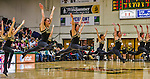 4 February 2014: The University of Vermont Dance Team entertains the fans during a game against the University of Maine Black Bears at Patrick Gymnasium in Burlington, Vermont. The Cats defeated the Bears 93-65 improving to 9-1 in America East and 15-9 overall. Mandatory Credit: Ed Wolfstein Photo *** RAW (NEF) Image File Available ***