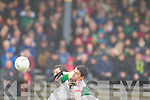 , Kerry in action against   Tyrone in the fourth round of the National Football league at Fitzgerald Stadium, Killarney on Sunday.