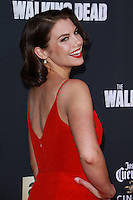 UNIVERSAL CITY, CA, USA - OCTOBER 02:  Lauren Cohan arrives at the Los Angeles Premiere Of AMC's 'The Walking Dead' Season 5 held at AMC Universal City Walk on October 2, 2014 in Universal City, California, United States. (Photo by David Acosta/Celebrity Monitor)