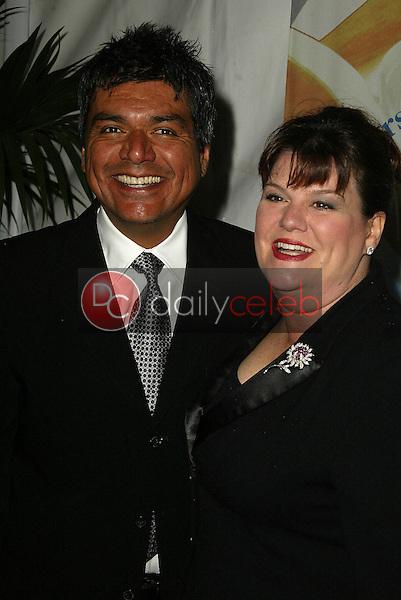 George Lopez and Ana Serrano