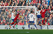 9th February 2019, Anfield, Liverpool, England; EPL Premier League football, Liverpool versus AFC Bournemouth; Sadio Mane of Liverpool scores his side's first goal after 24  minutes to make the score 1-0