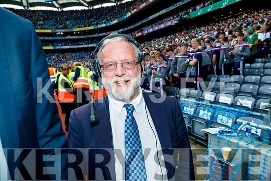 Gerry Grogan Croke Park Announcer from Cahersiveen after the GAA Football All-Ireland Senior Championship Final match between Kerry and Dublin at Croke Park in Dublin on Sunday.