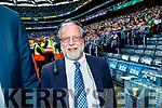 Gerry Grogan Croke Park Announcer from Cahersiveen after the GAA Football All-Ireland Senior Championship Final match between Kerry and Dublin at Croke Park in Dublin on Sunday.