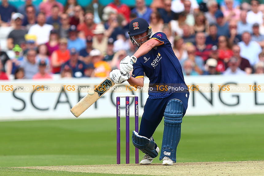 Tom Westley hits out for Essex during Essex Eagles vs Glamorgan, NatWest T20 Blast Cricket at The Cloudfm County Ground on 16th July 2017
