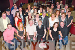 Bash: Partying the night away at her 60th birthday in ODonnells Bar & Restaurant, Mounthawk, on Friday evening was Sally OCallaghan of Gallowsfield (seated fourth from left), along with family and friends..
