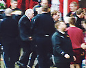 ::  BBC ALBA GRAB :: AN ANGRY ABERDEEN MANAGER CRAIG BROWN GOES AFTER MOTHERWELL CHAIRMAN JOHN BOYLE  ::<br /> <br /> James Stewart Photography claims no License or Copyright on this image grab. Usage Fees requested by James Stewart are for grabbing services only. Screen Grabbed Image's should not be used more than 48 hours after the time of original transmission, without prior consent from the holder of the copyright.