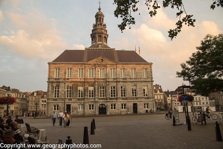 Stadhuis city hall building, market square, Maastricht, Limburg province, Netherlands, 1662, architect Pieter Post
