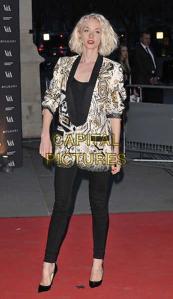 LONDON, ENGLAND - APRIL 02: Portia Freeman attends the &quot;The Glamour of Italian Fashion 1945-2014&quot; private view, V&amp;a Museum, Cromwell Rd., on Wednesday April 02, 2014 in London, England, UK.<br /> CAP/CAN<br /> &copy;Can Nguyen/Capital Pictures