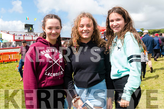 Charlotte Spain, Kate Reagan and Emma Power enjoying the Dingle Races over the weekend.