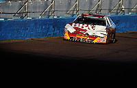 Nov. 8, 2008; Avondale, AZ, USA; NASCAR Nationwide Series driver Clint Bowyer during the Hefty Odor Block 200 at Phoenix International Raceway. Mandatory Credit: Mark J. Rebilas-