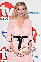 LONDON, UK. September 10, 2018: Georgia Toffolo at the TV Choice Awards 2018 at the Dorchester Hotel, London.<br /> Picture: Steve Vas/Featureflash