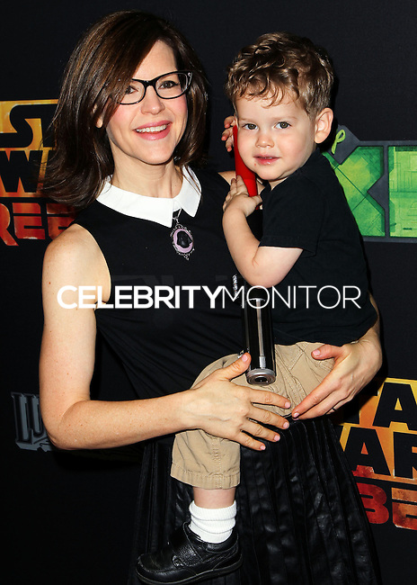 "CENTURY CITY, CA, USA - SEPTEMBER 27: Lisa Loeb arrives at the Los Angeles Screening Of Disney XD's ""Star Wars Rebels: Spark Of Rebellion"" held at the AMC Century City 15 Theatre on September 27, 2014 in Century City, California, United States. (Photo by Celebrity Monitor)"
