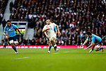 England's Jonathan Joseph runs away for his 2nd try - RBS 6 Nations - England vs Italy - Twickenham Stadium - London - 14/02/2015 - Pic Charlie Forgham-Bailey/Sportimage
