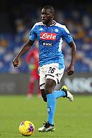 Kalidou Koulibaly of Napoli<br /> Napoli 01-12-2019 Stadio San Paolo <br /> Football Serie A 2019/2020 <br /> SSC Napoli - Bologna FC<br /> Photo Cesare Purini / Insidefoto