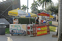 1 October 2011:  The concessions at the north side of the stadium.  The Duke University Blue Devils defeated the FIU Golden Panthers, 31-27, at FIU Stadium in Miami, Florida.