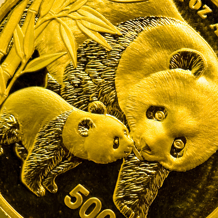 2004 1Oz Chinese Gold Panda 500Y