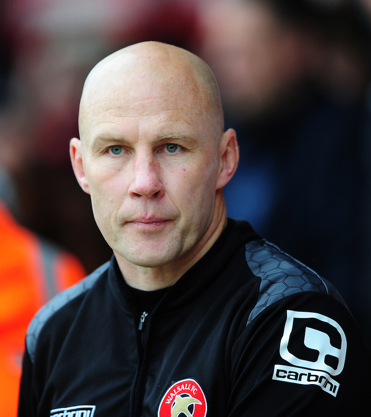 Walsall interim manager Jon Whitney <br /> <br /> Photographer Chris Vaughan/CameraSport<br /> <br /> Football - The Football League Sky Bet League One - Walsall v Fleetwood Town - Monday 2nd May 2016 - Banks's Stadium - Walsall   <br /> <br /> &copy; CameraSport - 43 Linden Ave. Countesthorpe. Leicester. England. LE8 5PG - Tel: +44 (0) 116 277 4147 - admin@camerasport.com - www.camerasport.com