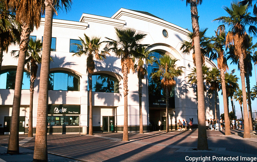 Ballparks: Rancho Cucamonga. The Epicenter, home of the Quakes, 1993. Architects, Grilllias-Pirc-Rosier-Alves.