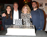 LOS ANGELES - FEB 20:  Amelia Heinle, Eric Braeden, Melody Thomas Scott, Joshua Morrow at the Melody Thomas Scott Celebrates 40 Years on Y&R Event at CBS Television City on February 20, 2019 in Los Angeles, CA