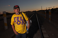 People trapped between migration, indigence, marginalization, poverty and drugs, spend their days living on the side of the tracks and the Ferromex train station which they use as a transport to travel from south to north of Mexico. comes to the border in Nogales, Arizona USA. This December 18 is the International Migrants Day, a date proclaimed by the General Assembly of the United Nations. And this is how the Member States of the United Nations and non-governmental organizations dedicate the day to share and disseminate information on human rights and fundamental freedoms of migrants<br /> <br /> <br /> migration,border,freedoms,migrant,United Nations,protection,human,displaced,Human Rights,Migrants day,UNESCO,Derechos Humanos,Naciones Unidas,ONU,desarrollo,no gubernamentales,humanos,protección,rostro,retrato,December,development,sub-development,States,organizations,intergovernmental,non-governmental,face,portrait,International Migrants Day.,pobres,drugs,indigence,marginalization,poverty,train,train station,People,tracks,luz de dia,outdoor,south,nort,transport,station,Nogales,Arizona,Estados Unidos,love,hunger