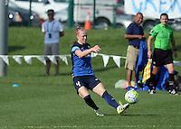 Kansas City, MO - Sunday August 28, 2016: Becky Sauerbrunn during a regular season National Women's Soccer League (NWSL) match between FC Kansas City and the Boston Breakers at Swope Soccer Village.