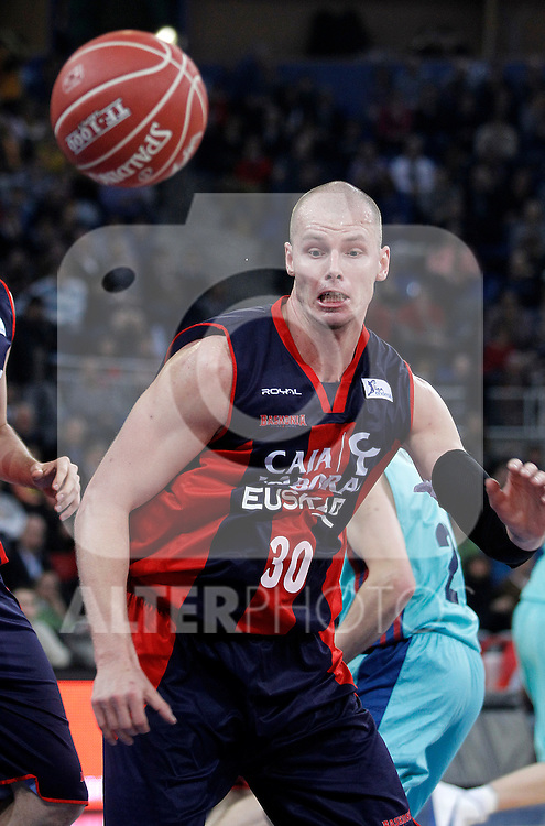 Caja Laboral Baskonia's Maciej Lampe during Spanish Basketball King's Cup semifinal match.February 07,2013. (ALTERPHOTOS/Acero)