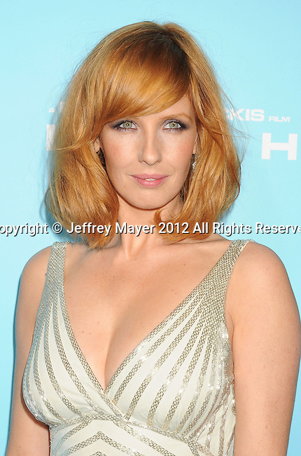 HOLLYWOOD, CA - OCTOBER 23: Kelly Reilly arrives at the 'Flight' - Los Angeles Premiere at ArcLight Cinemas on October 23, 2012 in Hollywood, California.