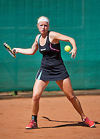 August 13, 2014, Netherlands, Raalte, TV Ramele, Tennis, National Championships, NRTK,  Monique Zuur (NED)<br /> Photo: Tennisimages/Henk Koster