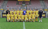 Waasland Beveren Sinaai Girls : ploegfoto seizoen 2012 - 2013.foto Vrouwenteam.be / David Catry