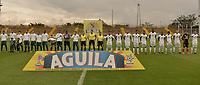 BOGOTÁ -COLOMBIA, 10-04-2018: La Equidad y Leones FC en partido por la fecha 14 de la Liga Águila I 2018 jugado en el estadio Metropolitano de Techo de la ciudad de Bogotá. / La Equidad and Leones FC in match for the date 14 of the Aguila League I 2018 played at Metropolitano de Techo stadium in Bogotá city. Photo: VizzorImage/ Gabriel Aponte / Staff