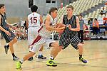 NELSON, NEW ZEALAND - MAY 30: Mainland U17 Basketball Tournament, 30 May 2015, Saxton Stadium, Nelson, New Zealand Photos: Barry Whitnall/shuttersport