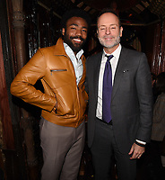 "LOS ANGELES - FEBRUARY 19: Donald Glover and FX Networks CEO John Landgraf at the party for FX's ""Atlanta Robbin' Season"" at the Clifton Cafeteria on February 19, 2018 in Los Angeles, California.(Photo by Frank Micelotta/FX/PictureGroup)"