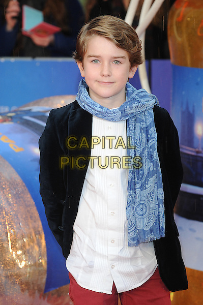 LONDON, ENGLAND - NOVEMBER 23: Samuel Joslin attends the World Premiere of Paddington at Odeon Leicester Square on November 23, 2014 in London, England.<br /> CAP/BEL<br /> &copy;Tom Belcher/Capital Pictures