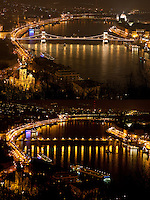 Earth Hour 2011 - Budapest