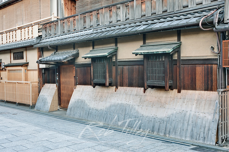 Asia, Japan, Kyoto, Gion, Traditional Houses