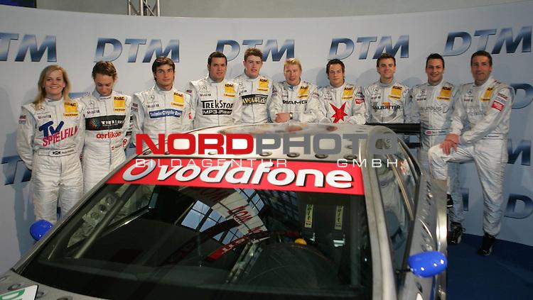 DTM Pr&auml;sentation 2007<br /> <br /> Mercedes Piloten<br /> <br /> Foto &copy; nph (  nordphoto  )<br /> <br />  *** Local Caption ***