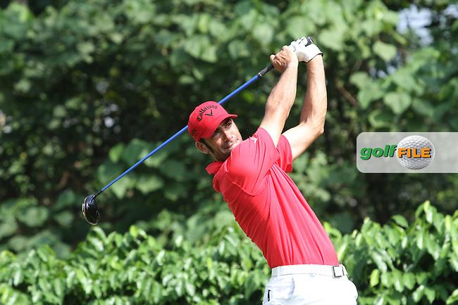 Alvaro Quiros (ESP) on the 5th on the Final Day of the Maybank Malaysian Open 2012 at Kuala Lumpur Golf and Country Club, Kuala Lumpur, Malaysia..(Photo Jenny Matthews/www.golffile.ie)