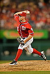 19 May 2012: Washington Nationals pitcher Craig Stammen on the mound against the Baltimore Orioles at Nationals Park in Washington, DC. The Orioles defeated the Nationals 6-5 in the second game of their 3-game series. Mandatory Credit: Ed Wolfstein Photo