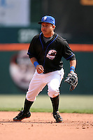 April 25, 2009:  Second Baseman Argenis Reyes of the Buffalo Bisons, International League Class-AAA affiliate of the New York Mets, during a game at the Coca-Cola Field in Buffalo, NY.  Photo by:  Mike Janes/Four Seam Images