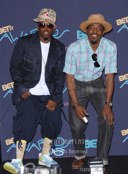 OUTKAST at the 2006 BET Awards in Los Angeles...June 27, 2006  Los Angeles, CA.© 2006 Paul Smith / Featureflash