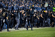 PHILADELPHIA, PA - DEC 8, 2018: The Army Black Knights defeat the Navy Midshipmen 17-10 and extend their winning streak to three in a row at Lincoln Financial Field in Philadelphia, PA. (Photo by Phil Peters/Media Images International)