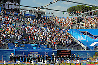 Roma 2nd August 2009 - 13th Fina World Championships .From 17th to 2nd August 2009.Minute of silence in memory of the Fina Vice President Hironoshin FURUHASHI.Roma2009.com/InsideFoto/SeaSee.com . .Foto Andrea Staccioli Insidefoto